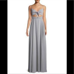 NEW Fame & Partners Cutout Maxi Dress